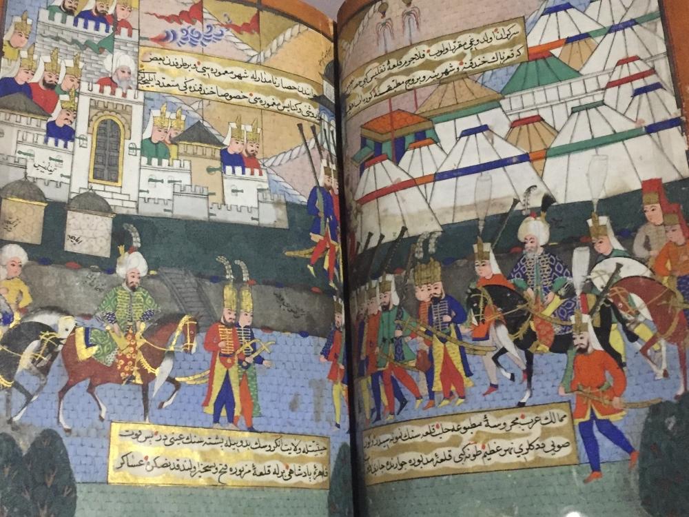 Turkish book (1582) describing the Ottoman contest of Georgia